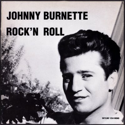 Johnny Burnette-RnR-LPSkyline--Front